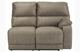 Bohannon Taupe Right Arm Facing Power Reclining Loveseat