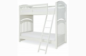 Academy White Bunk Bed