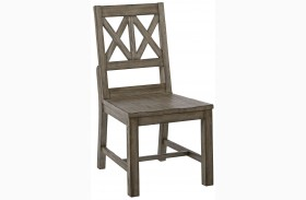 Foundry Wood Side Chair Set of 2