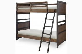 Fulton County Tawny Brown Bunk Bed