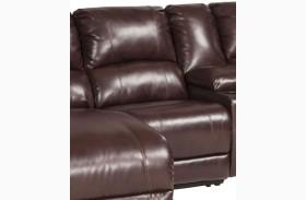 MacGrath DuraBlend Mahogany Finish Armless Chair