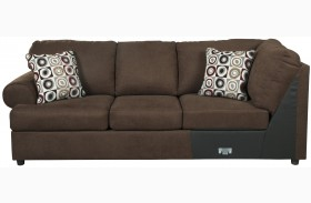 Jayceon Java Finish LAF Sofa