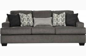 Gilmer Gunmetal Finish Sofa