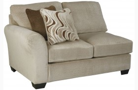 Hazes Fleece Finish LAF Loveseat