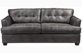 Inmon Charcoal Finish Sofa