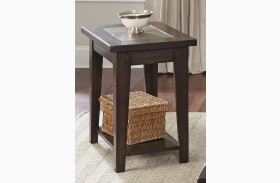 Hearthstone Dark Rustic Chair Side Table