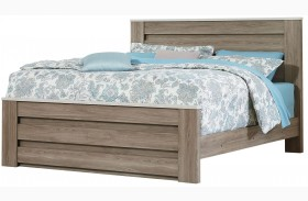 Stonehill Weathered Oak Poster Mansion Bed