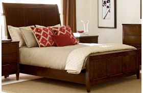 Elise Caris Sleigh Bed