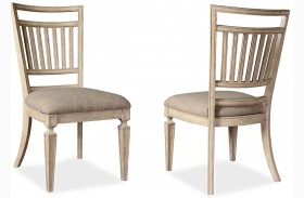 The Foundry Cafe Bennett Paint White Finish Side Chair Set of 2