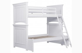 SummerTime Fresh White Bunk Bed