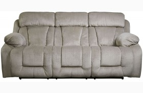 Stricklin Pebble Finish Reclining Sofa