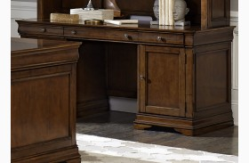 Chateau Valley Brown Finish Cherry Jr Executive Credenza