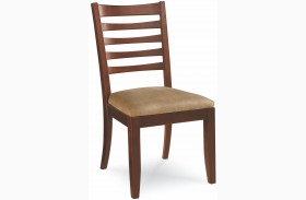 Tribecca Root Beer Finish Splat Dining Side Chair