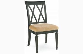 Camden Black Splat Dining Side Chair