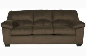 Dailey Chocolate Finish Sofa