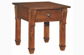 Tuscano Rectangular End Table