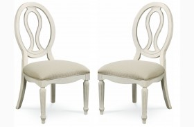 Summer Hill Pierced Back Chair Set of 2