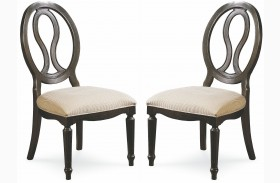 Summer Hill Midnight Side Chair Set of 2