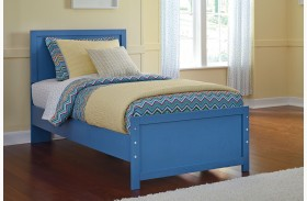 Bronilly Blue Panel Bed