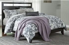 Agella Merlot Panel Bed