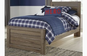 Javarin Grayish Brown Youth Panel Bed