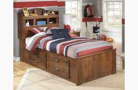 Barchan Youth Bookcase Underbed Storage Bed
