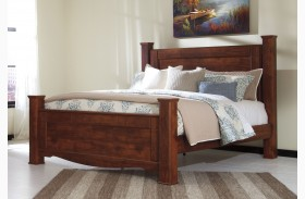 Brittberg Reddish Brown Poster Bed