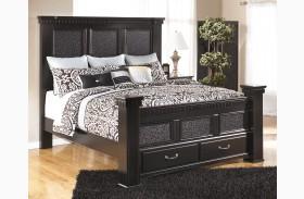 Cavallino Storage Mansion Bed