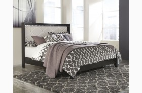 Fancee White Panel Bed