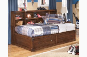 Delburne Youth Bookcase Storage Bed