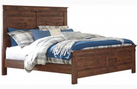 Hammerstead Brown Panel Bed