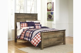 Trinell Brown Panel Bed