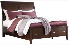 Evanburg Sleigh Storage Bed