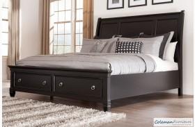 Greensburg Storage Sleigh Bed