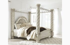 north shore canopy bedroom set. Cassimore North Shore Pearl Silver King Upholstered Poster Canopy Bed