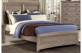Transitions Driftwood Oak Panel Bed