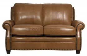 Bennett Italian Leather Loveseat