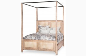 Biscayne West Sand Canopy Bed