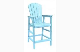 Generations Aqua Dining Pub Arm Chair
