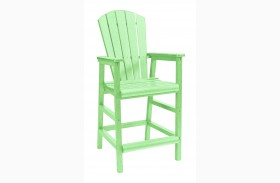 Generations Lime Green Dining Pub Arm Chair