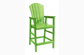 Generations Kiwi Lime Dining Pub Arm Chair
