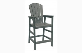 Generations Slate Dining Pub Arm Chair