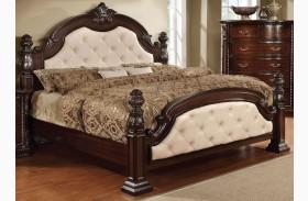 Monte Vista I Leatherette Poster Bed