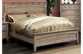 Loxley Camel Finish Panel Bed