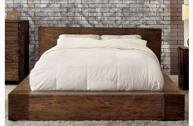 Janeiro Rustic Natural Finish Bed