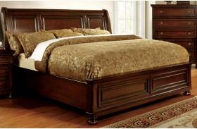 Northville Dark Cherry Finish Bed