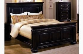 Cambridge Deep Espresso Panel Bed