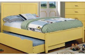 Prismo Yellow Youth Platform Bed