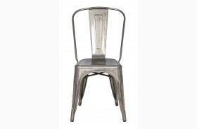 Stovall Metal Chairs Set of 4