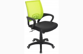 Officer Office Lime Green Finish Chair